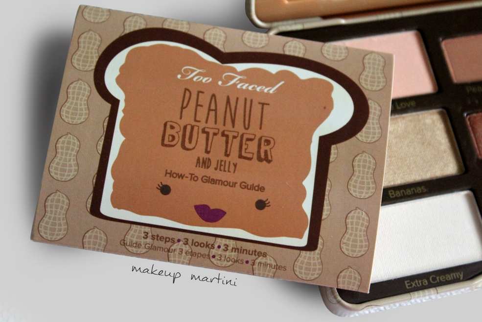 Too Faced Peanut Butter and Jelly Palette Glamour Guide