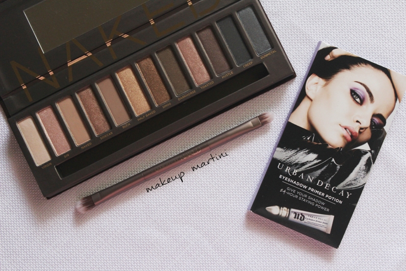 Urban Decay Naked Eyeshadow Palette Review and Swatch
