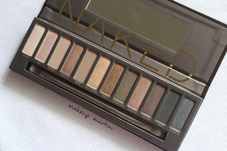 Urban Decay Naked 1 Eyeshadow Palette Review and Swatch