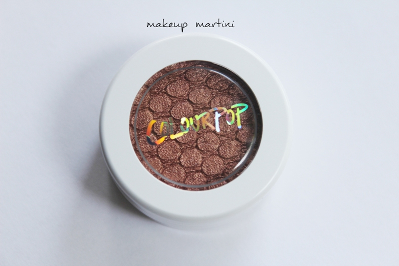 ColourPop La La Super Shock Shadow Review and Swatches