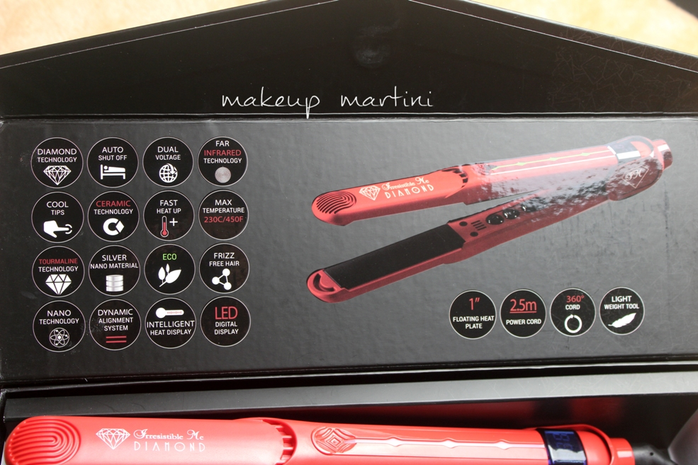 Irresistible Me Diamond Professional Hair Straightener Review