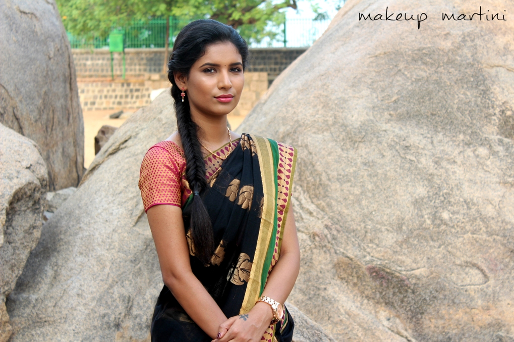 Styling Silk Cotton Saree