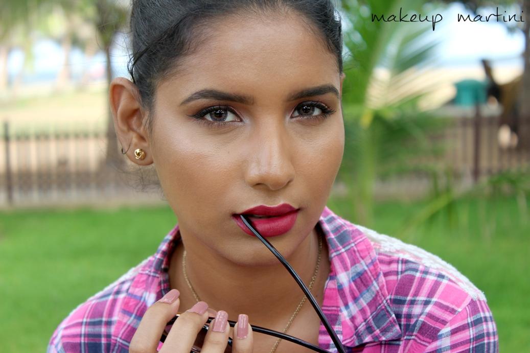 Subtle Yet Bright Makeup Look