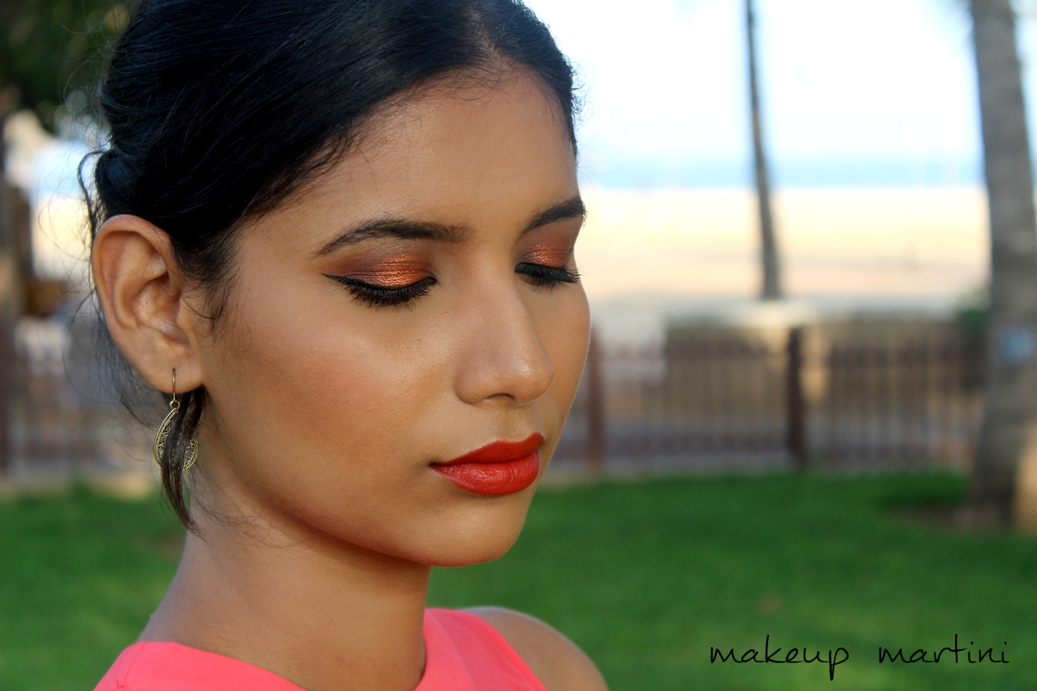 Warm Fall Makeup Look Using Morphe 35O Palette