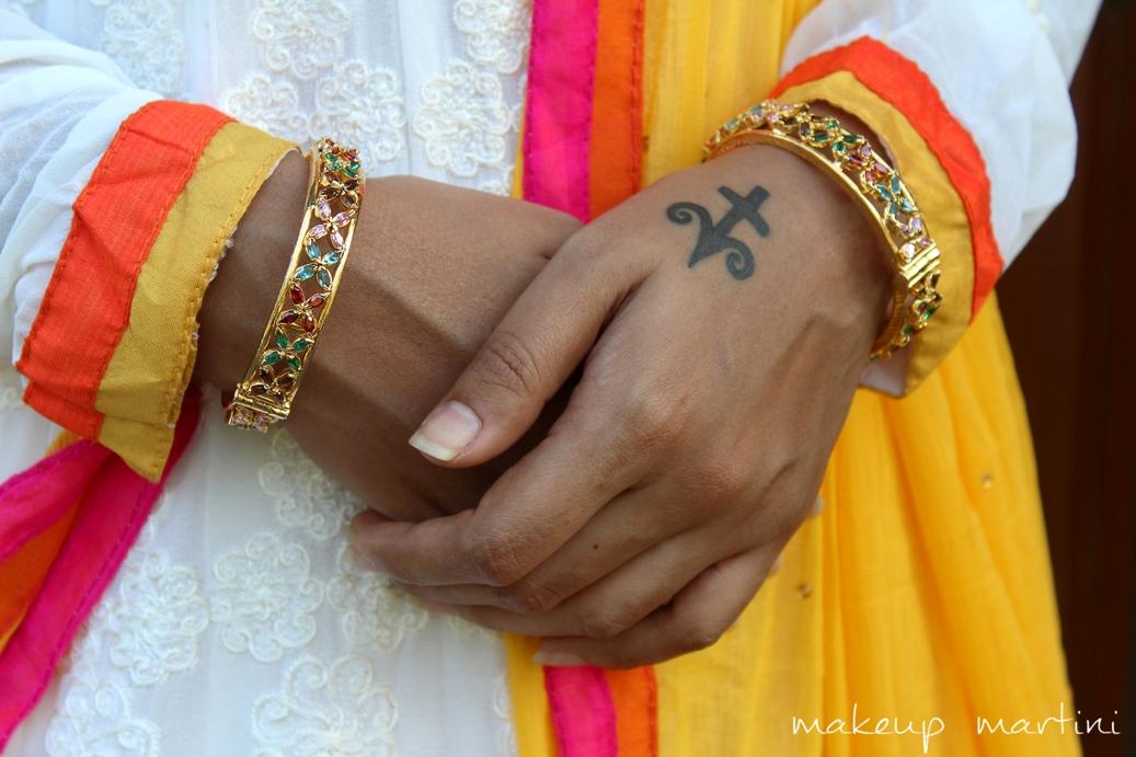 Accessorizing Anarkali Dress Ideas