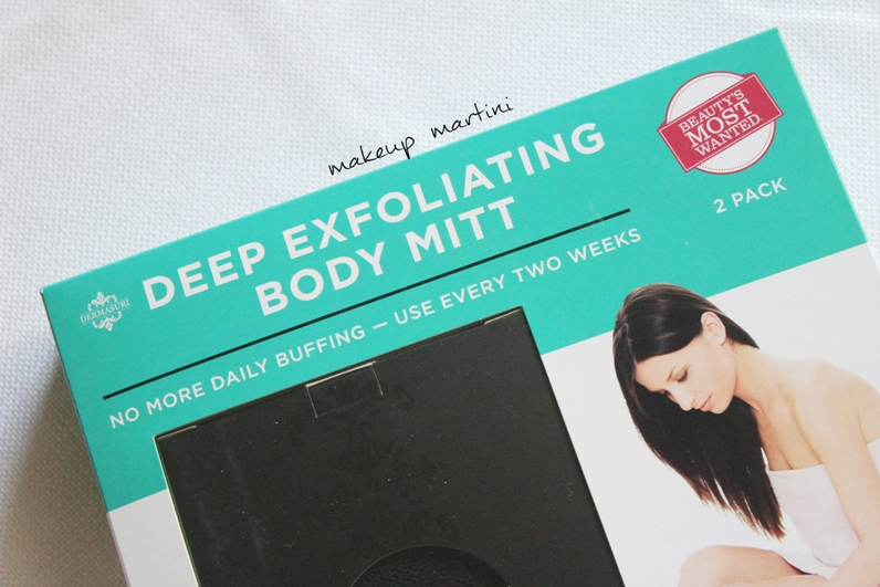 Dermasuri Deep Exfoliating Body Mitt Review