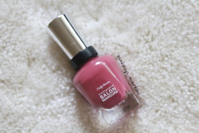 Sally Hansen Complete Salon Manicure Ginger Zinger Review