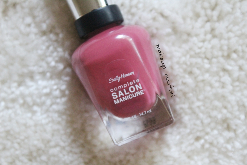 Sally Hansen Complete Salon Manicure Ginger Zinger Review and Swatches