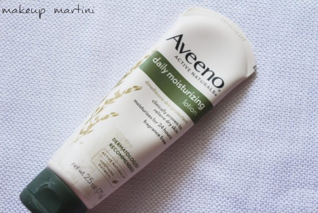 Aveeno Daily Moisturizing Lotion Review