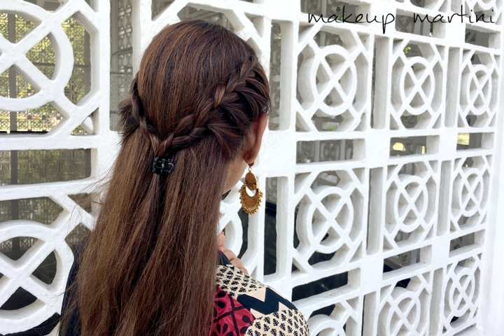 Hairstyles For Mehendi and Sangeet