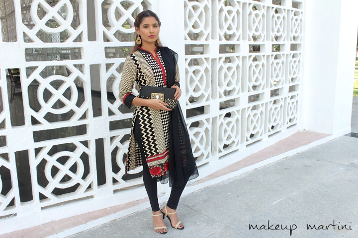Simple Mehendi Outfit For Guest OOTD