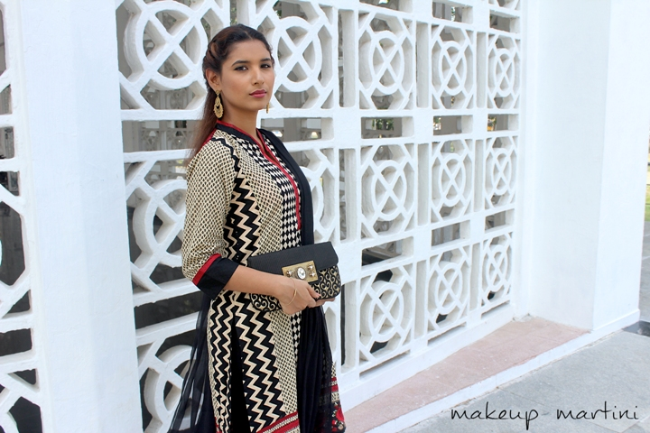 Simple Mehendi Outfit For Guests OOTD