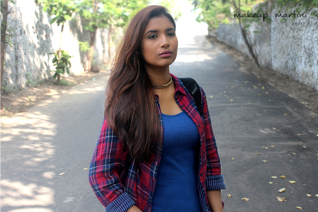 Styling Simple Plaid Shirt