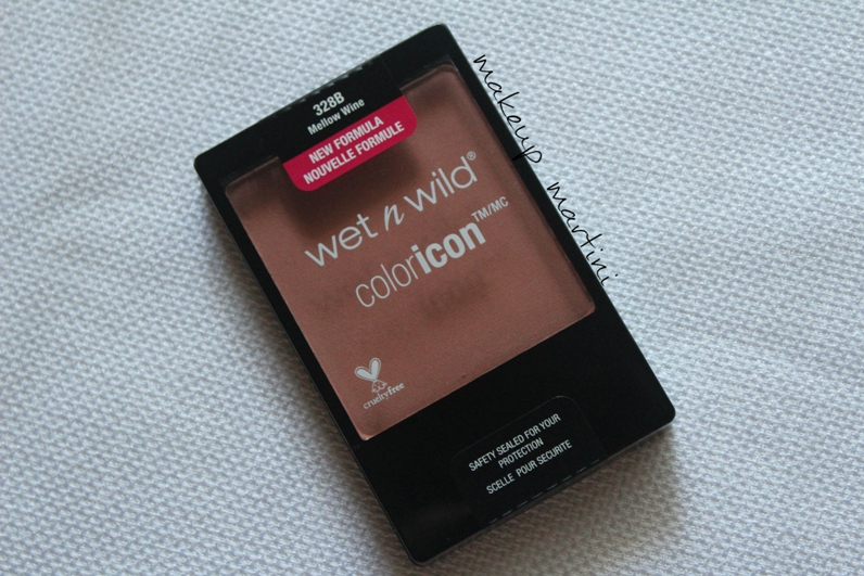 Wet n Wild Color Icon Blush Mellow Wine Review