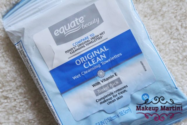 Equate Beauty Original Clean Wet Cleansing Towelettes Review