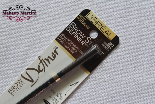 L'Oreal Paris Brow Stylist Definer Brunette Review