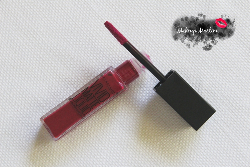 Maybelline Color Sensational Vivid Matte Lipstick Review and Swatch