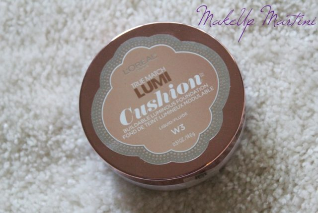 L'Oreal True Match Lumi Cushion Foundation Nude Beige W3 Review and Swatches
