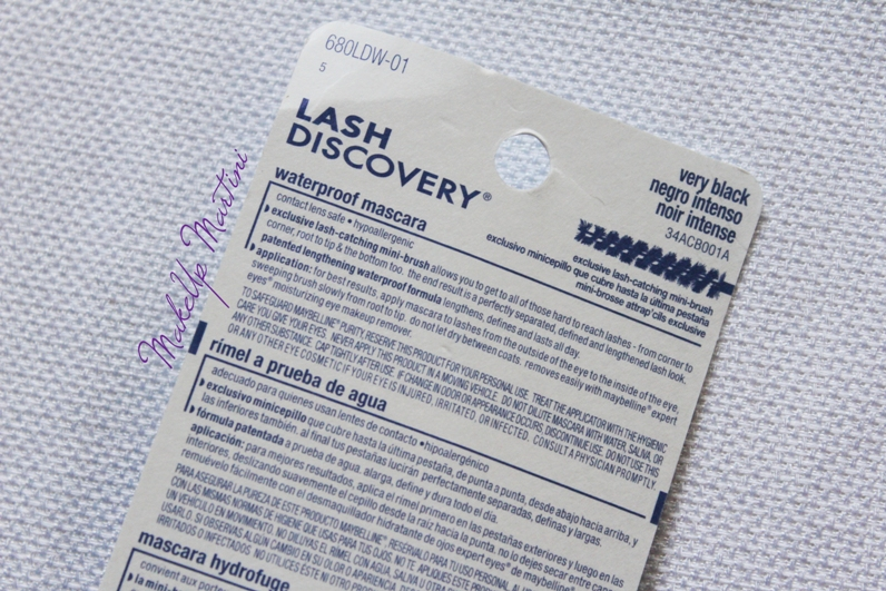Maybelline Lash Discovery Waterproof Mascara Dupes and Price