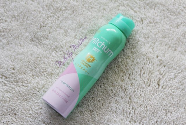 Mitchum Dry Women Powder Fresh Anti-Perspirant & Deodorant Review