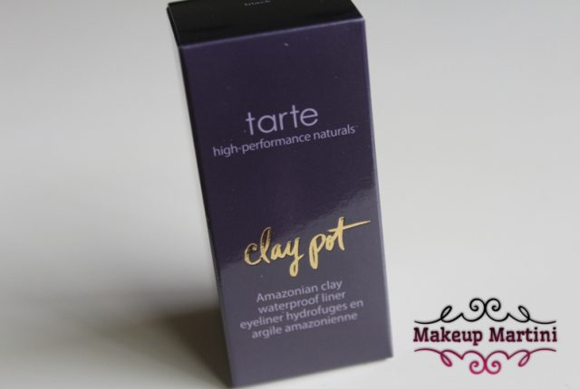 Tarte Clay Pot Black Waterproof Shadow Liner Review