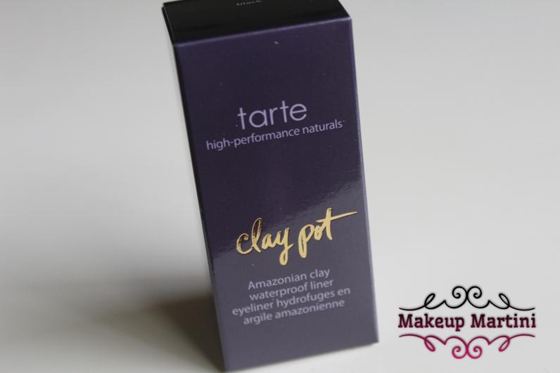 Tarte Clay Pot Black Waterproof Shadow Liner Review