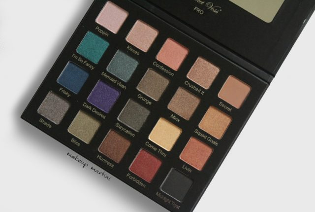 Violet Voss Drenched Metal Palette Review and Swatch