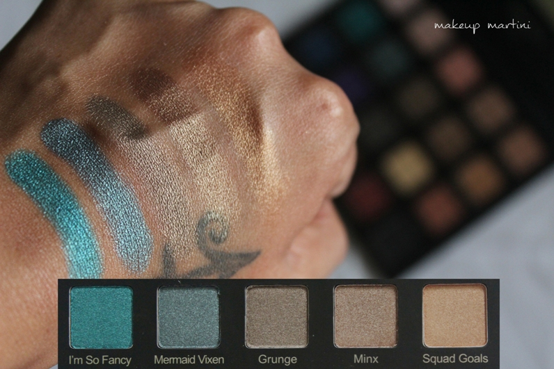 Violet Voss Drenched Metal Palette Review and Swatch - row 2