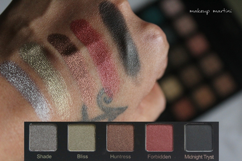 Violet Voss Drenched Metal Palette Review and Swatch - row 4