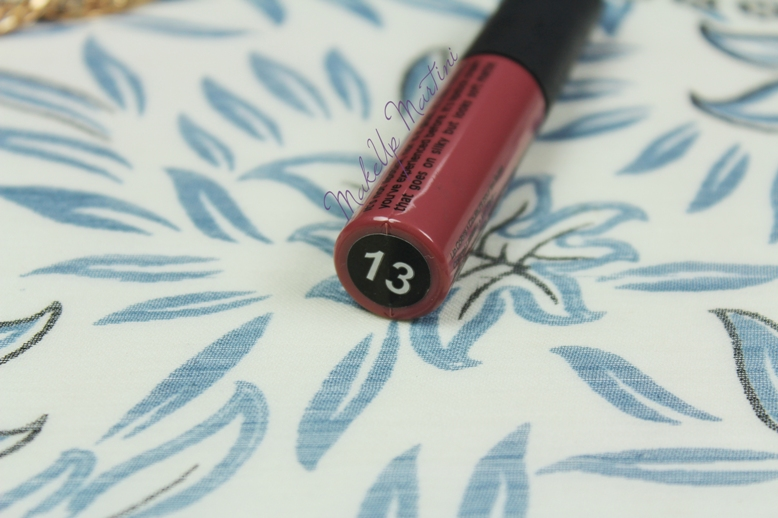 Miss Claire Soft Matte Lip Cream 13 Review and Swatch