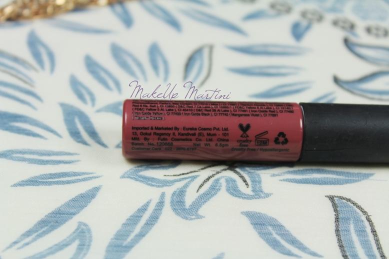 Miss Claire Soft Matte Lip Cream 13 Swatch