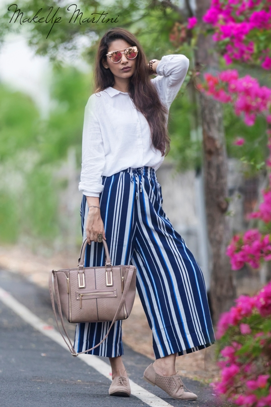Styling Striped Culottes