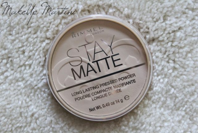 Rimmel Stay Matte Pressed Powder Transparent Review