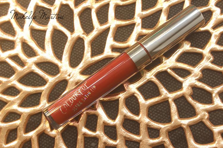 ColourPop Lost Ultra Satin Lipstick Review