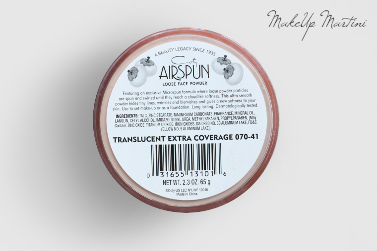 Coty Airspun Loose Face Powder Review