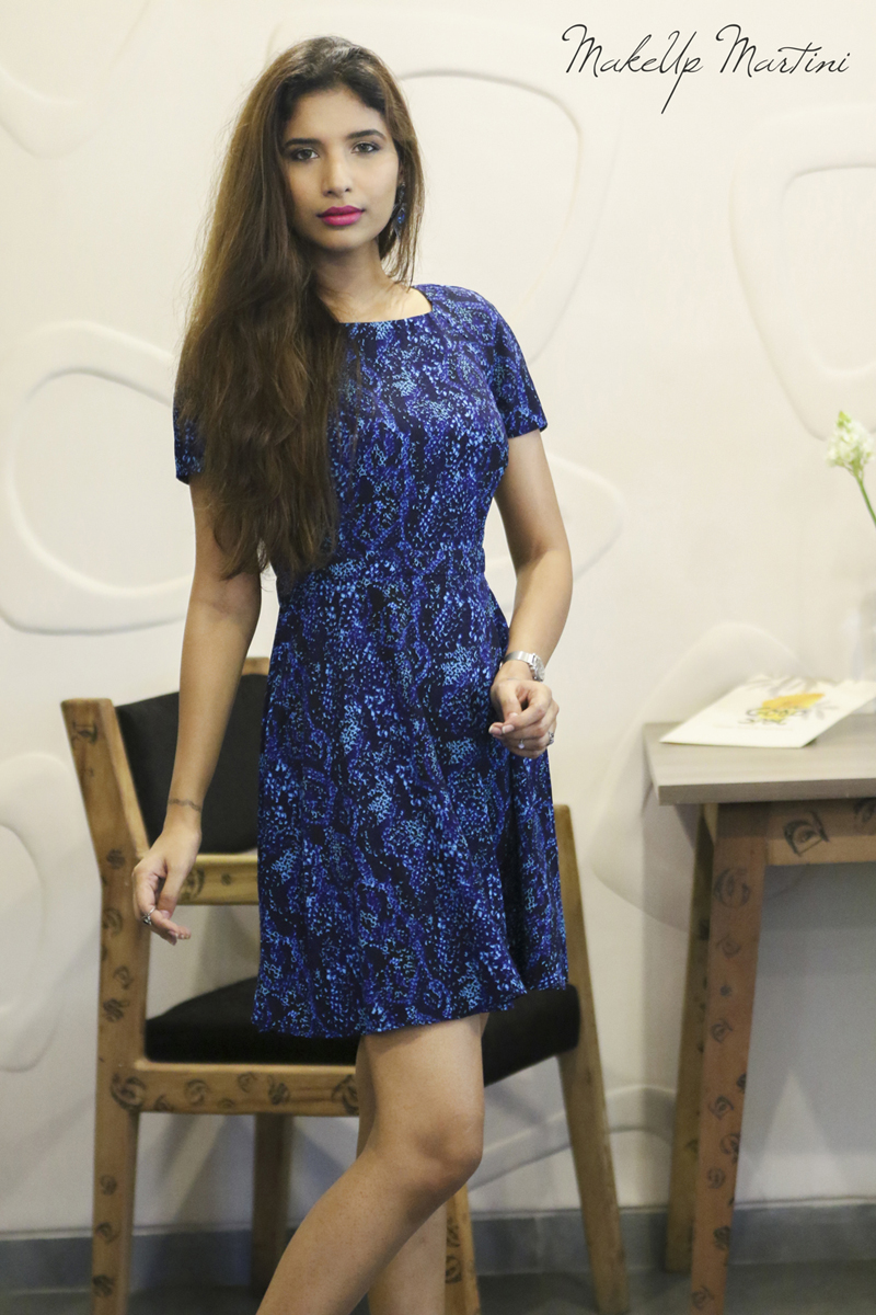 How to style skater dress