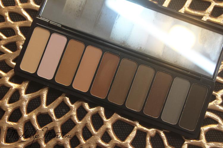 ELF Mad For Matte Eyeshadow Palette Shades