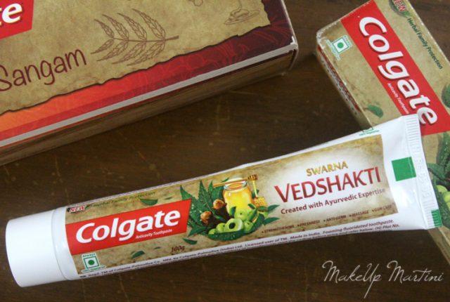 Colgate Swarna Vedshakti Toothpaste Review & Price