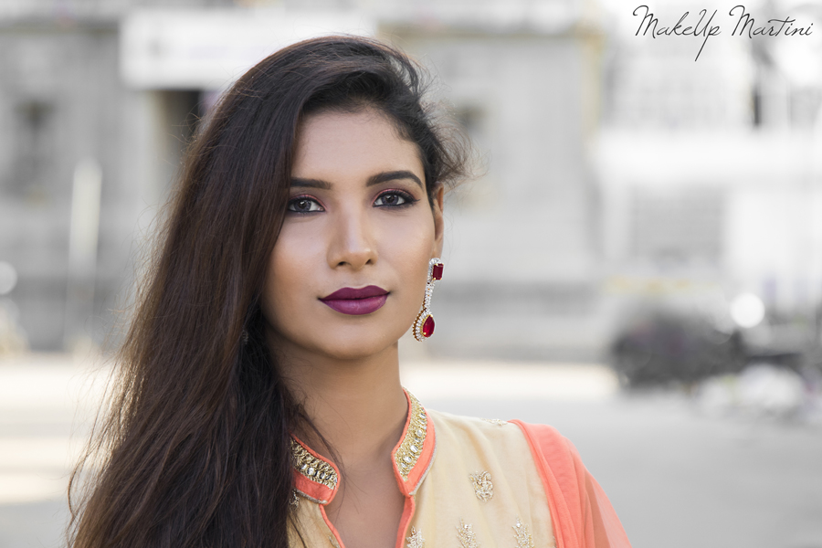 Festive Makeup Look 2017