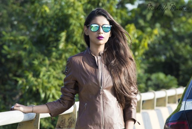 How To Style Brown Leather Jacket For Female