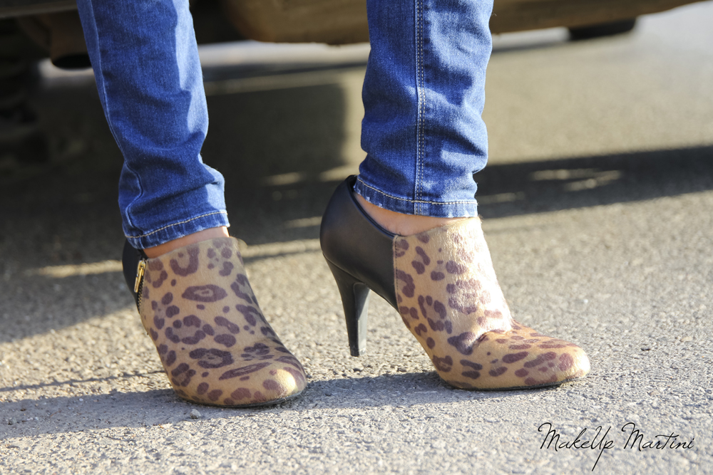 Styling Animal Printed Booties