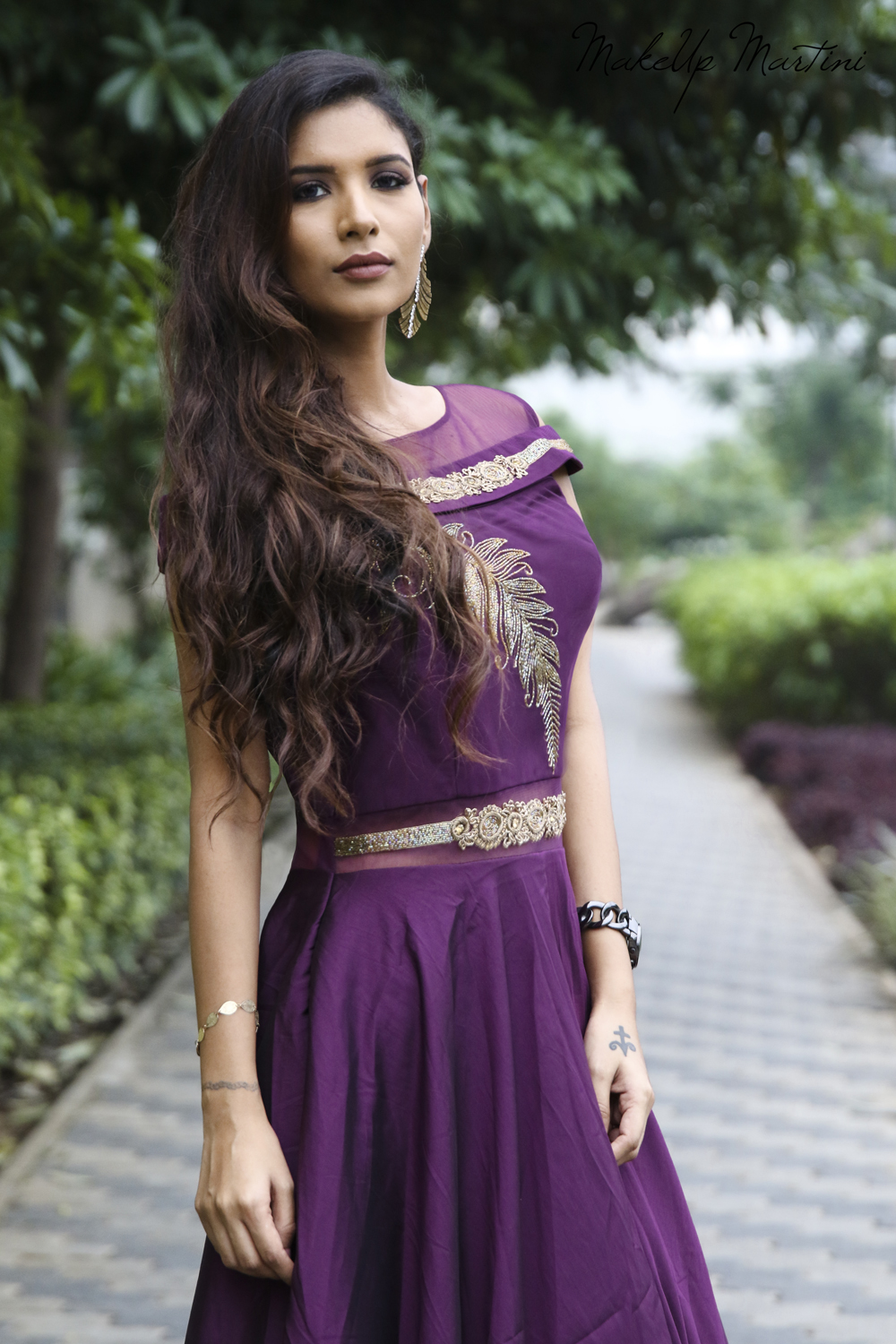 Indo-Western Gown OOTD