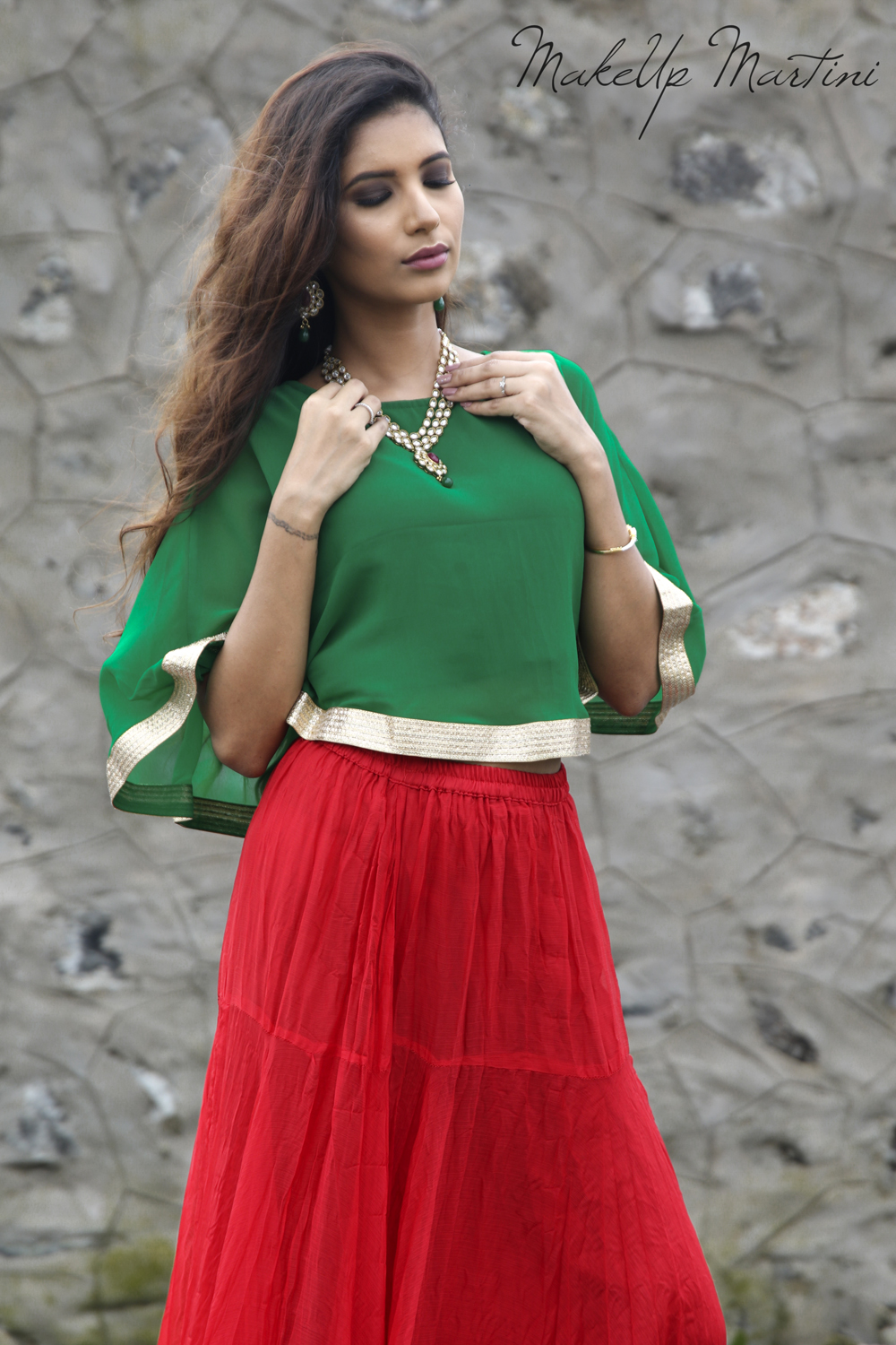 How To Style Indian Cape Tops