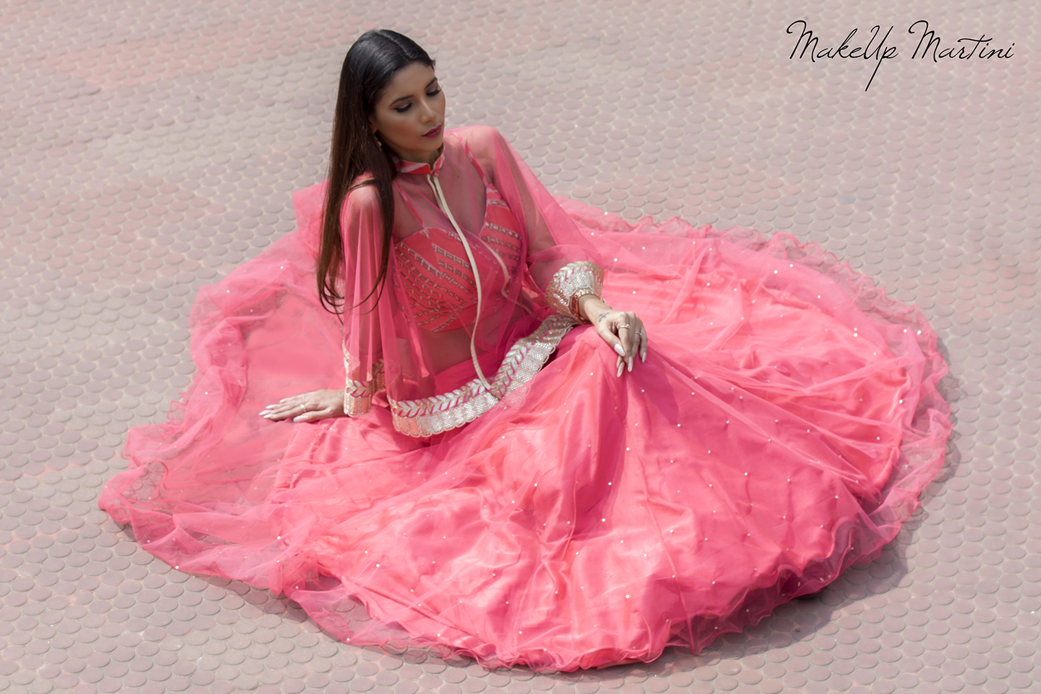 How To Style Lehenga With Cape Jacket