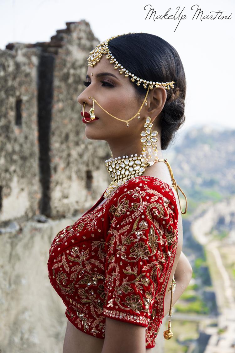 Classic North Indian Bridal Attire