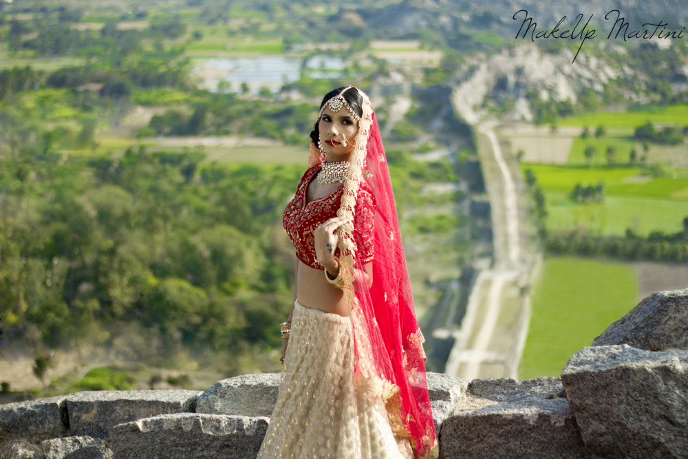 Classic North Indian Bridal Lehenga Look