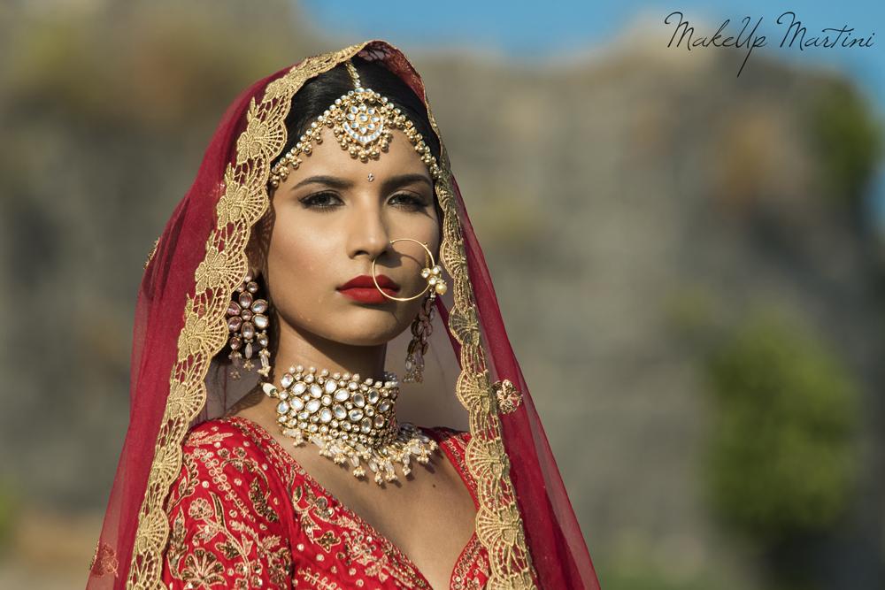Classic North Indian Bridal Makeup Look