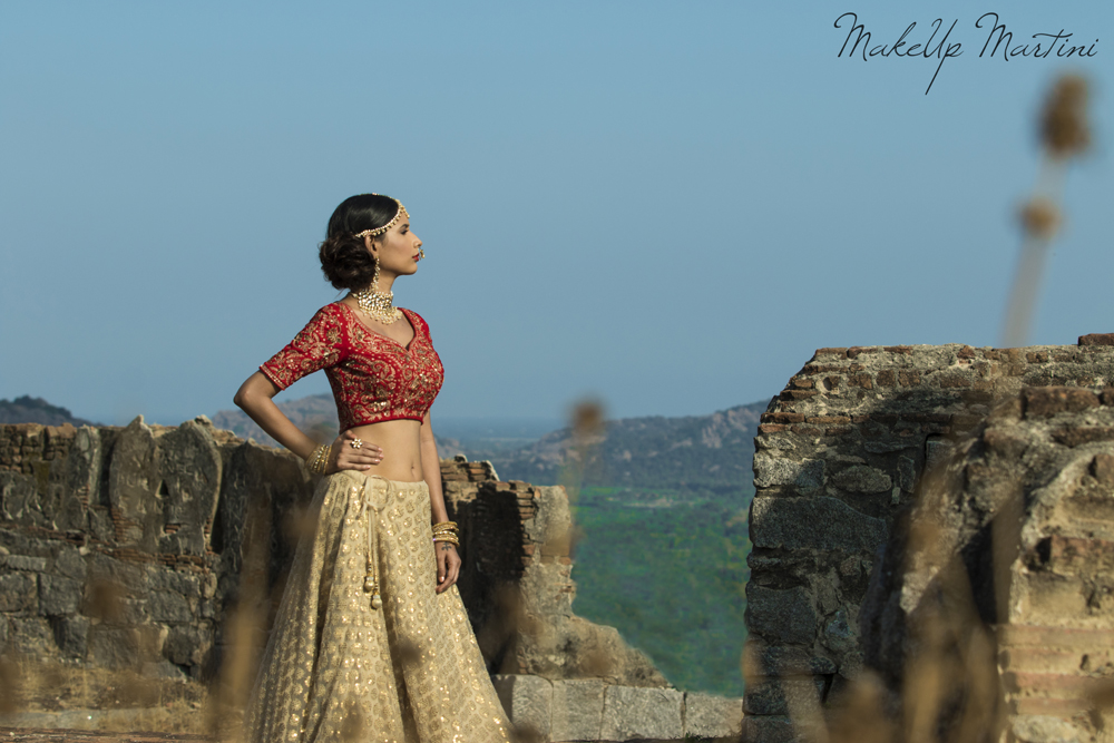 Classic North Indian Bridal Wear Look
