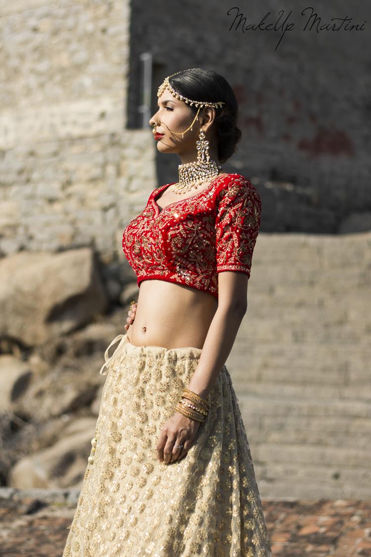 Red Lehenga Choli Indian Bridal Wear