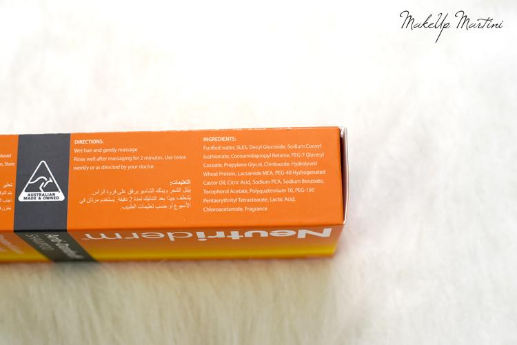 Neutriderm Anti Dandruff Shampoo Review